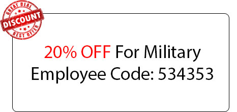 Military Employee Discount - Locksmith at Oak Park, IL - Oak Park Illinois Locksmith